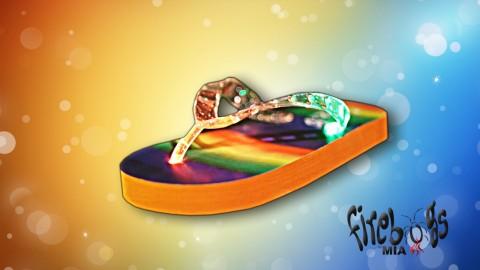 - lively 30 second spot introducing children's popular light up sandals!